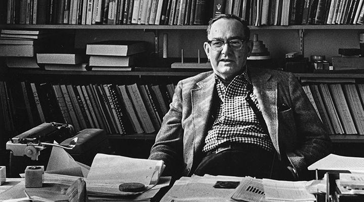 هربرت سایمون برنده نوبل اقتصاد و مبدع مفهوم اقتصاد توجه